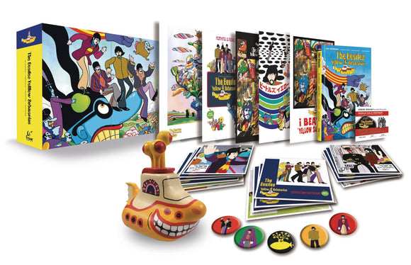 BEATLES YELLOW SUBMARINE LIMITED EDITION BOX SET