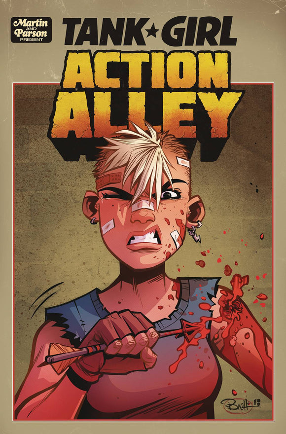 TANK GIRL ACTION ALLEY #2 CVR A PARSON