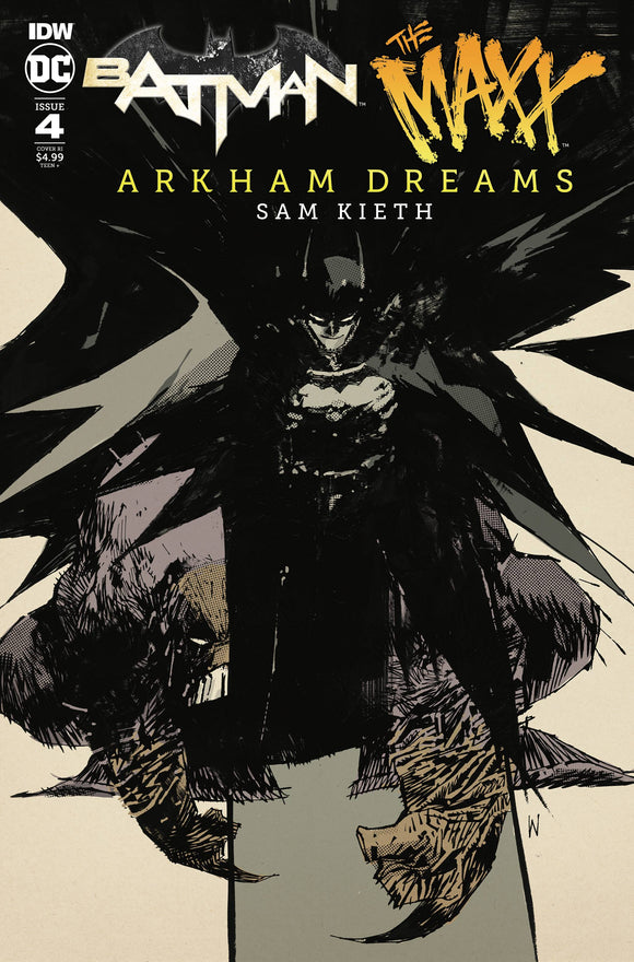 BATMAN THE MAXX ARKHAM DREAMS #4 (OF 5) 10 COPY INCV WOOD