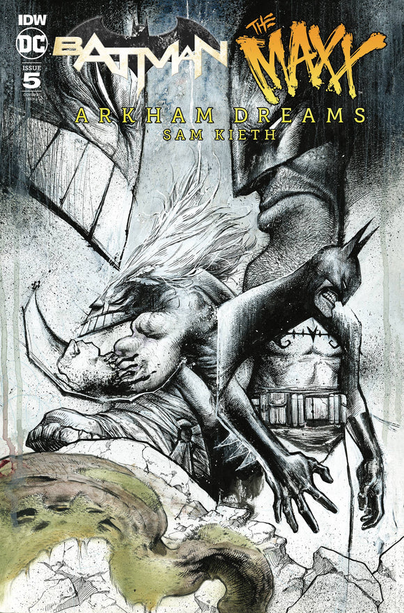 BATMAN THE MAXX ARKHAM DREAMS #5 (OF 5) 10 COPY INCV WAYSHAK