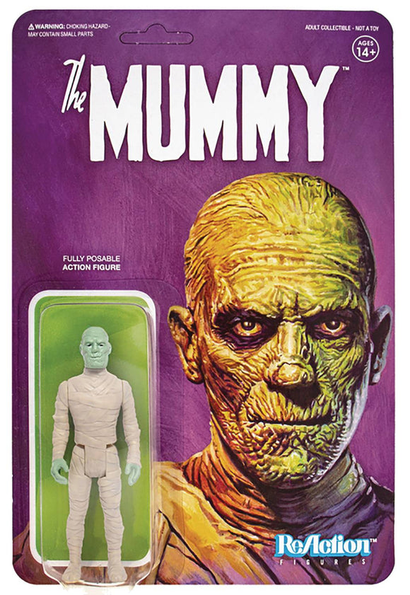 UNIVERSAL MONSTERS MUMMY REACTION FIG