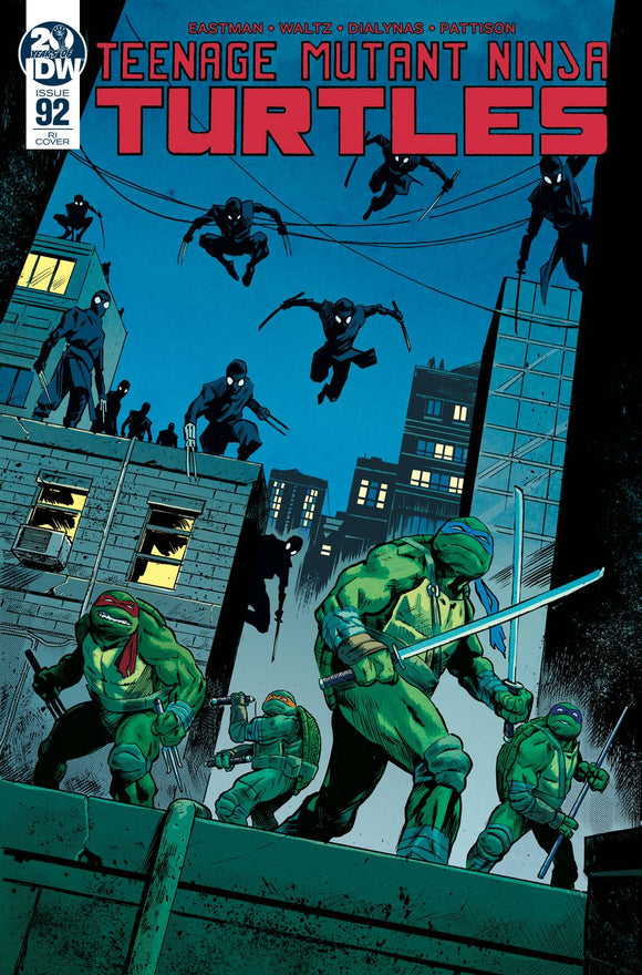 TMNT ONGOING #92 10 COPY INCV WALSH