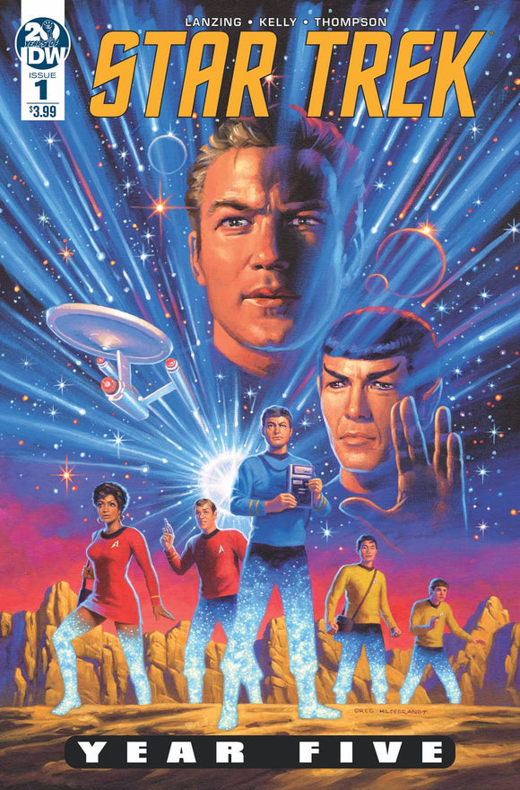 STAR TREK YEAR FIVE #1 HILDEBRANDT