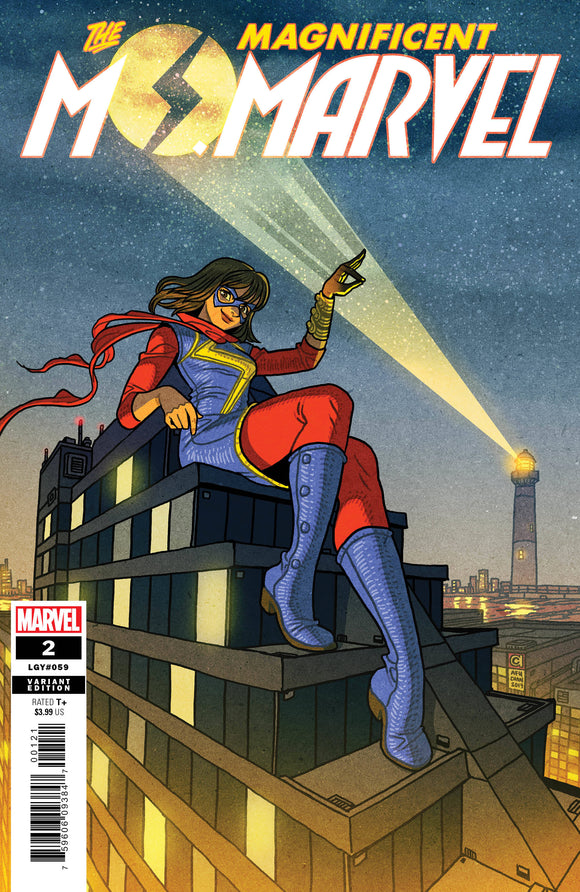 MAGNIFICENT MS MARVEL #2 CHAN VAR