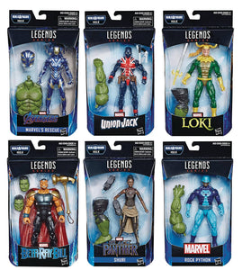 AVENGERS 4 LEGENDS HULK 6IN AF BETA RAY BILL