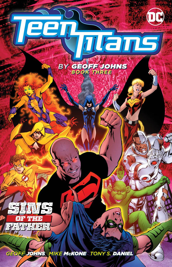 TEEN TITANS BY GEOFF JOHNS TP BOOK 03