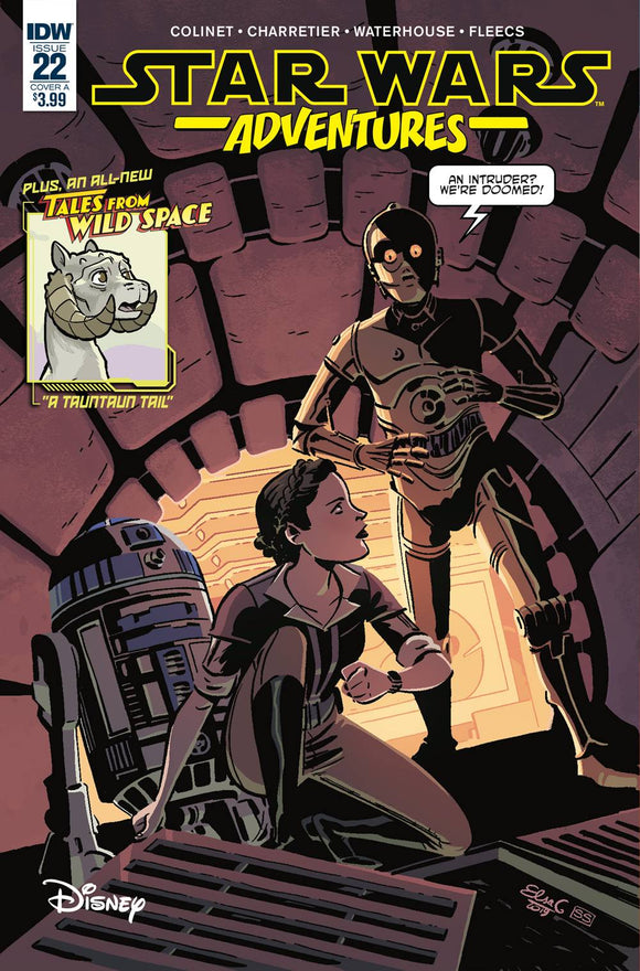 STAR WARS ADVENTURES #22 CVR A CHARRETIER
