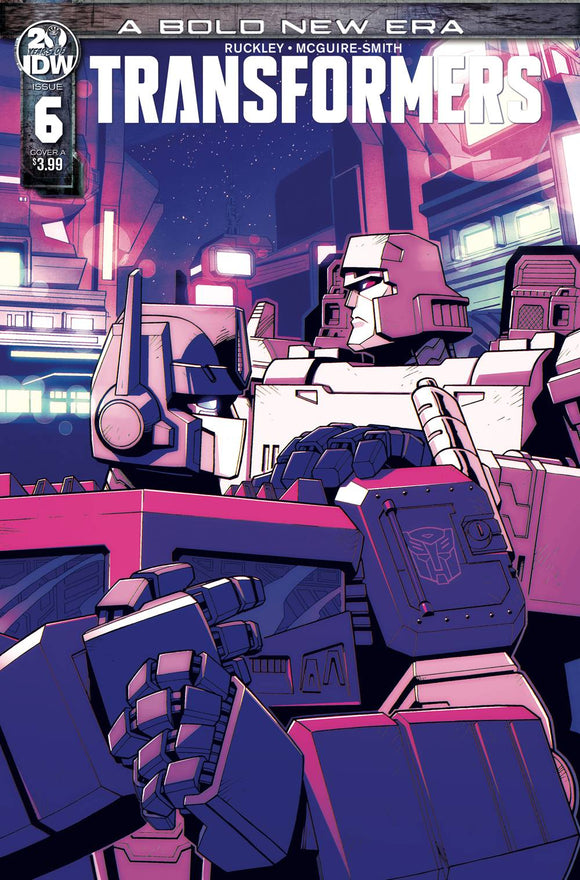 TRANSFORMERS #6 CVR A LAWRENCE