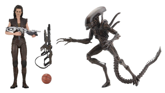 ALIENS SERIES 14 7IN SCALE AF XENOMORPH WARRIOR