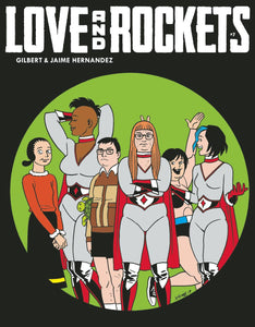 LOVE & ROCKETS MAGAZINE #7