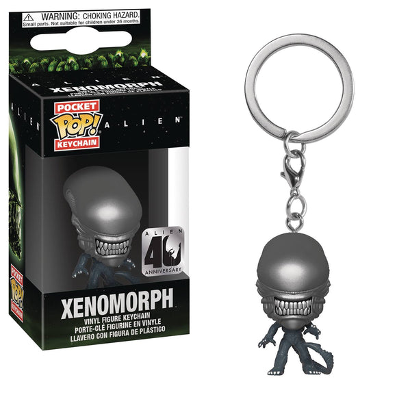 POCKET POP KEYCHAIN ALIEN 40TH XENOMORPH