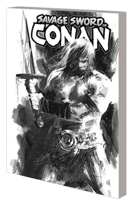 SAVAGE SWORD OF CONAN TP VOL 01 CULT OF KOGA THUN B&W