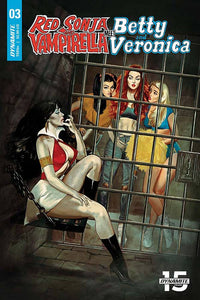 RED SONJA VAMPIRELLA BETTY VERONICA #3 CVR A DALTON