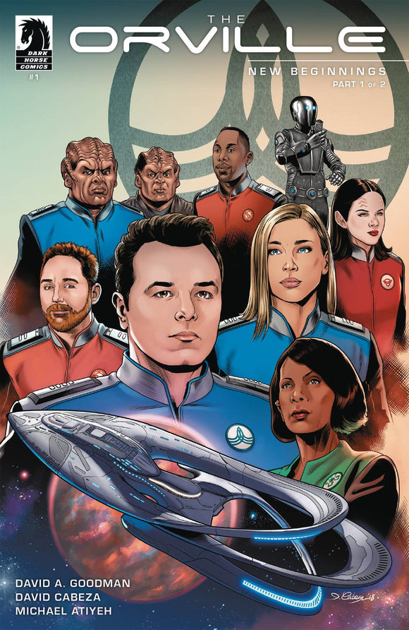 ORVILLE NEW BEGINNINGS #1