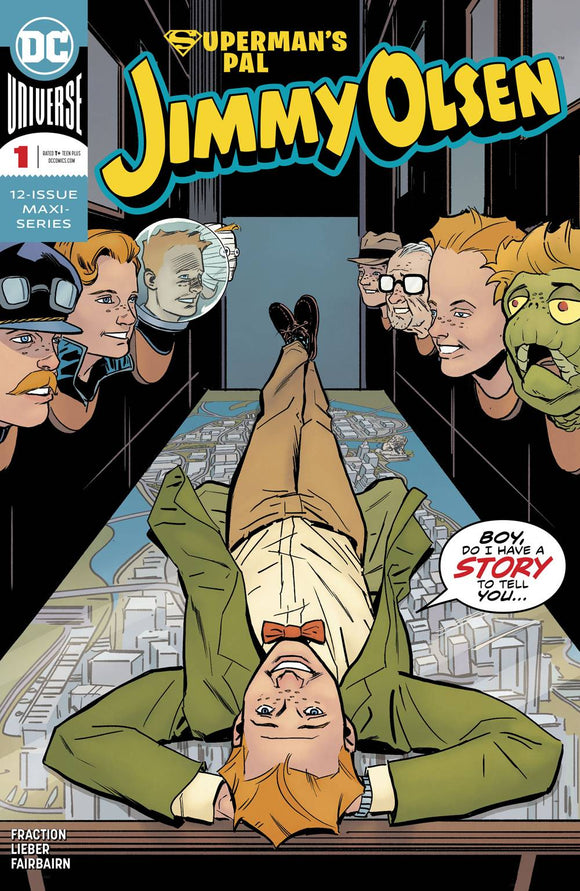 SUPERMANS PAL JIMMY OLSEN #1 (OF 12) (2019)