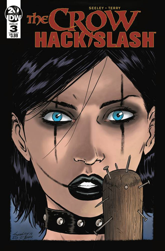 CROW HACK SLASH #3 (OF 4) CVR A SEELEY