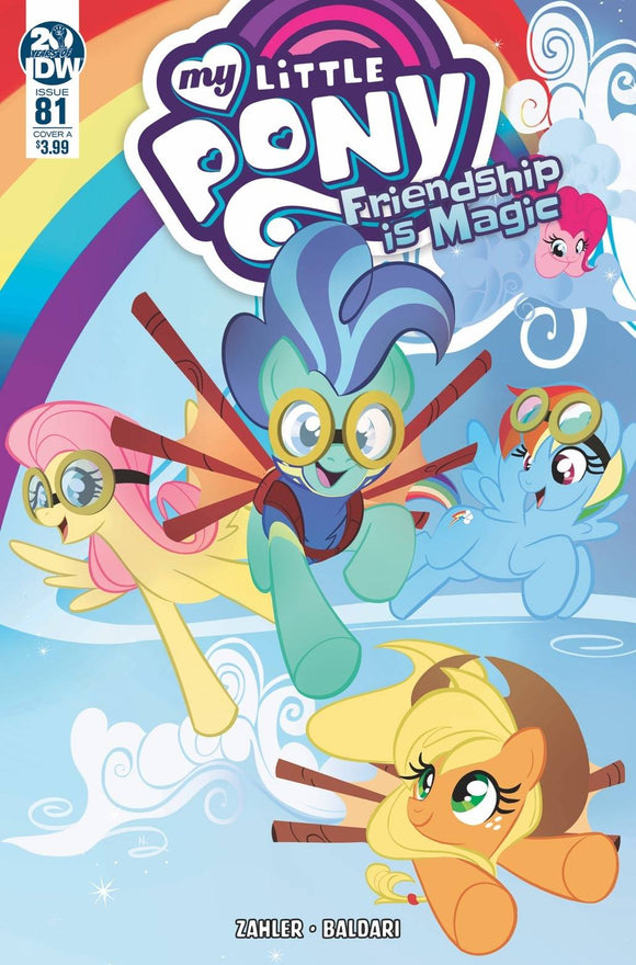 MY LITTLE PONY FRIENDSHIP IS MAGIC #81 CVR A BALDARI