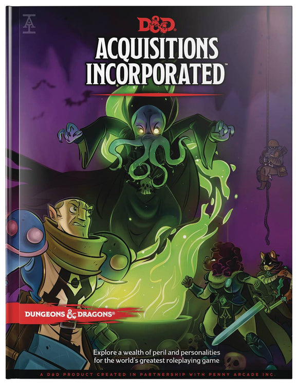 D&D RPG ACQUISITIONS INCORPORATED HC