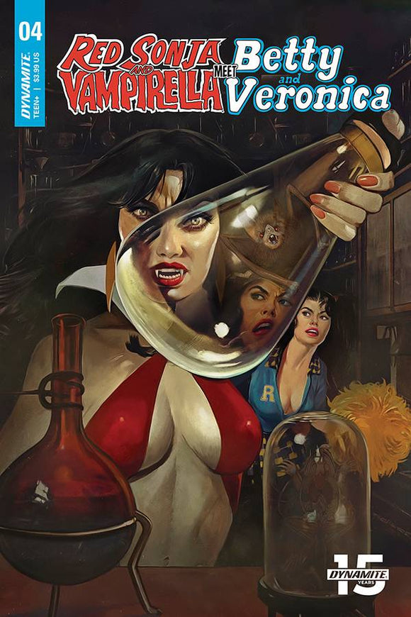 RED SONJA VAMPIRELLA BETTY VERONICA #4 CVR A DALTON