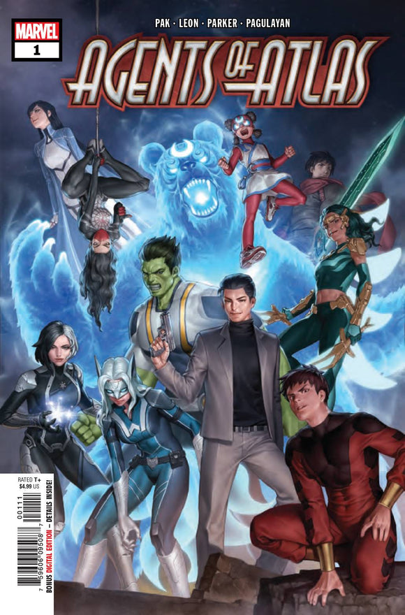 AGENTS OF ATLAS #1 (OF 5) (2019)