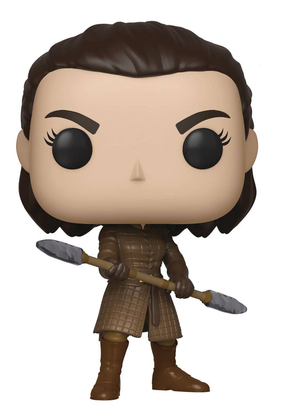 POP GAME OF THRONES 79 ARYA W/TWO-HEADED SPEAR