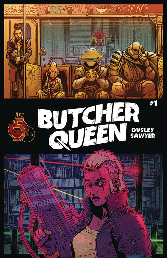 BUTCHER QUEEN #1 (OF 4)