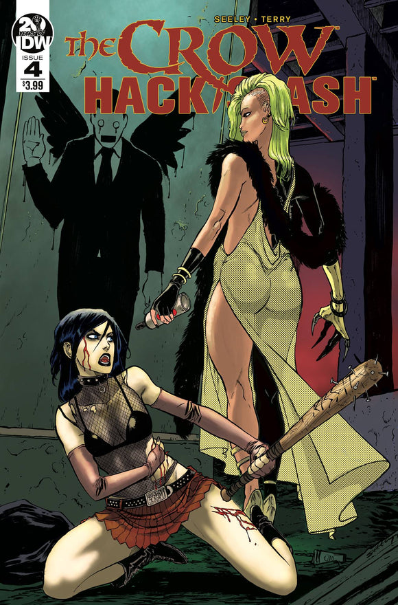 CROW HACK SLASH #4 (OF 4) CVR A SEELEY