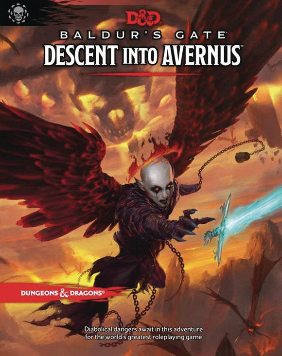 D&D RPG BALDURS GATE DECENT INTO AVERNUS HC