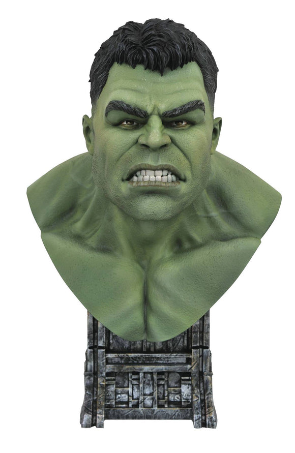 LEGENDS IN 3D MARVEL THOR RAGNAROK HULK 1/2 SCALE BUST