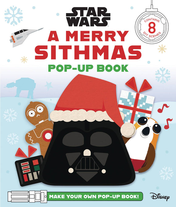 STAR WARS MERRY SITHMAS POP UP BOOK