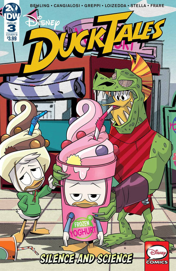 DUCKTALES SILENCE & SCIENCE #3 (OF 3) CVR B VARIOUS