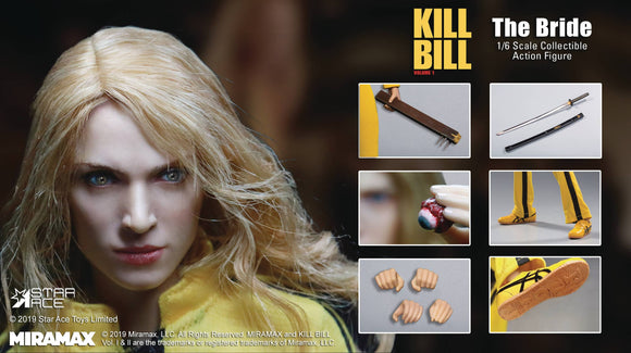KILL BILL VOLUME 1 THE BRIDE 1/6 SCALE AF