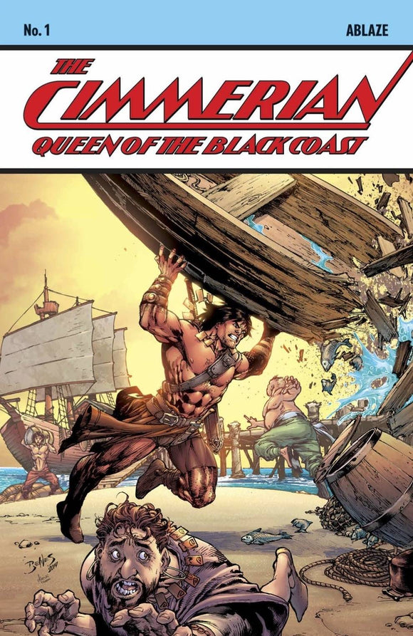 CIMMERIAN QUEEN OF BLACK COAST #1 CVR C ED BENES