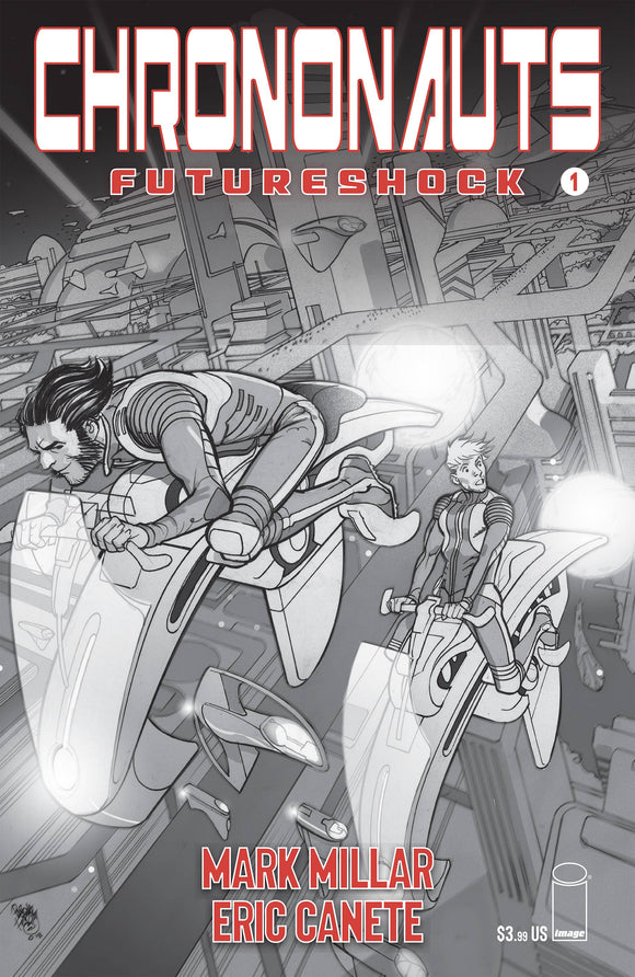 CHRONONAUTS FUTURESHOCK #1 (OF 4) CVR B FERRY