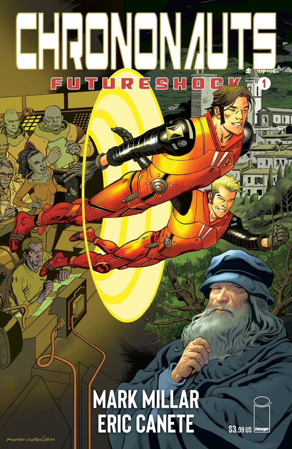 CHRONONAUTS FUTURESHOCK #1 (OF 4) CVR E NOWLAN
