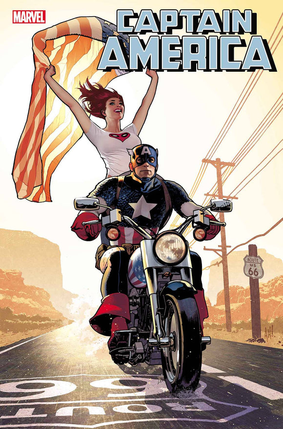 CAPTAIN AMERICA #15 HUGHES MARY JANE VAR (2018)