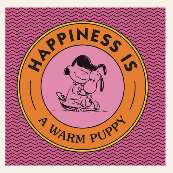 PEANUTS HAPPINESS IS WARM PUPPY HC