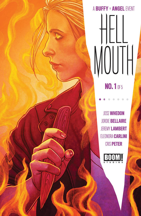 BUFFY VAMPIRE SLAYER ANGEL HELLMOUTH #1 CVR A FRISON