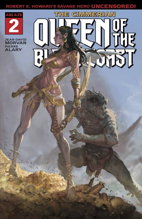 CIMMERIAN QUEEN OF BLACK COAST #2 CVR A YUNE