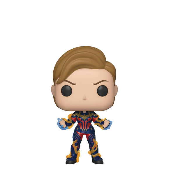 POP MARVEL 576 AVENGERS ENDGAME CAPTAIN MARVEL W/HAIRCUT