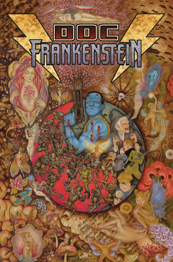 DOC FRANKENSTEIN POST MODERN PROMETHEUS HC