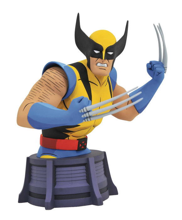MARVEL ANIMATED X-MEN WOLVERINE BUST