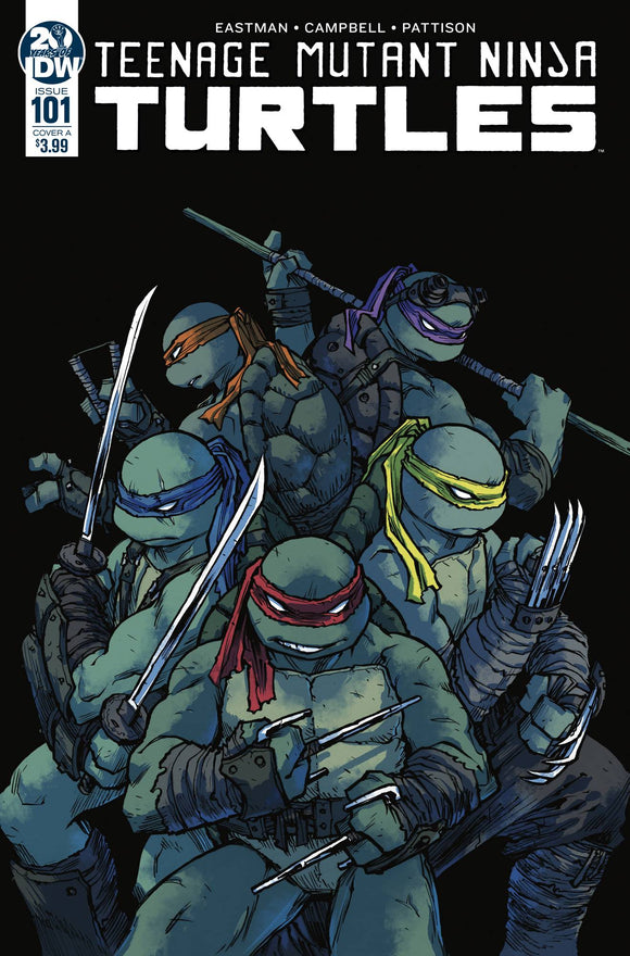 TMNT ONGOING #101 2ND PTG