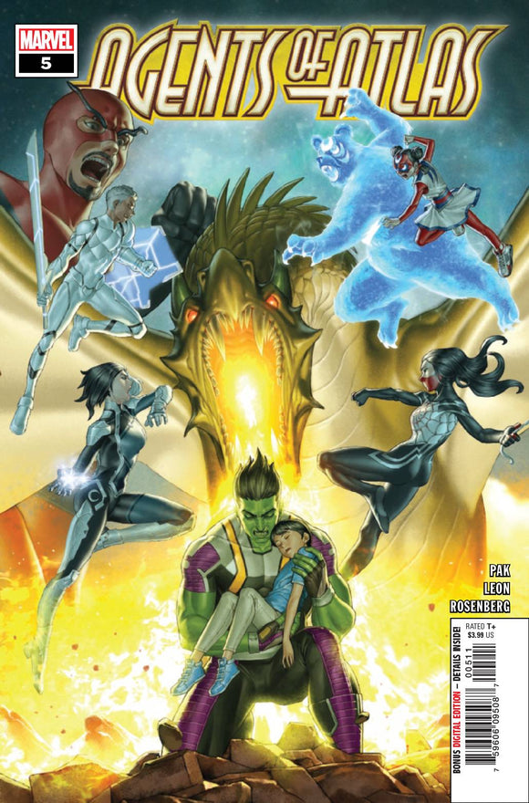 AGENTS OF ATLAS #5 (OF 5) (2019)