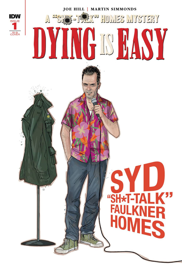 DYING IS EASY #1 (OF 5) 25 COPY INCV CHARACTER WRAP