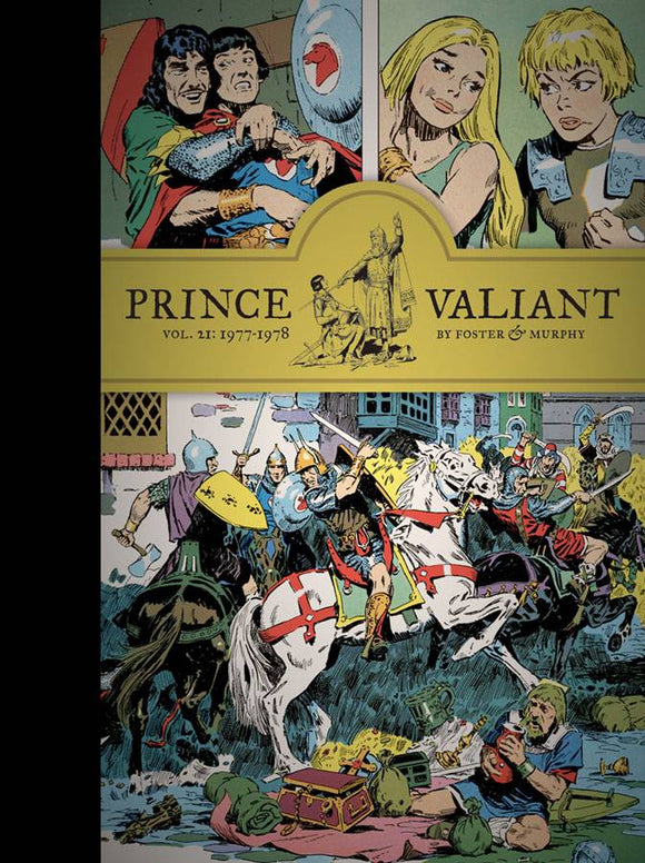 PRINCE VALIANT HC VOL 21 1977-1978