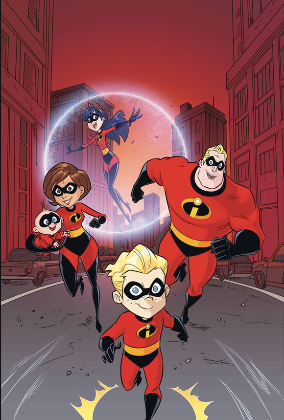 DISNEY PIXAR INCREDIBLES 2 SLOW BURN #1 (OF 3) CVR A VINCI