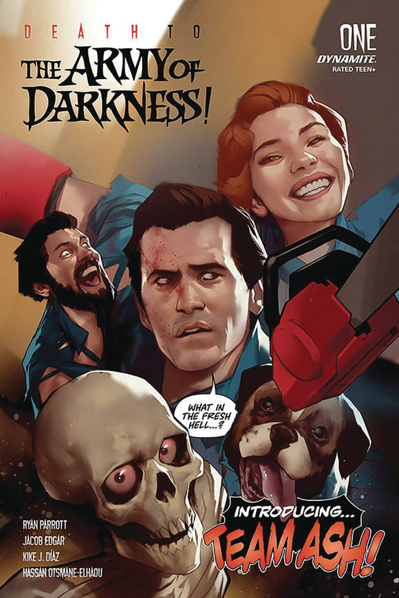 DEATH TO ARMY OF DARKNESS #1 CVR A OLIVER
