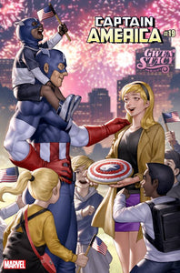 CAPTAIN AMERICA #19 YOON GWEN STACY VAR (2018)