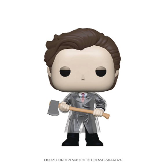 POP MOVIES 942 AMERICAN PSYCHO PATRICK W/AXE